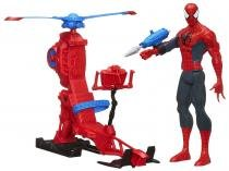 Spider Man with Web Copter