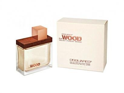 Dsquared She Wood Velvet Forest Wood - Perfume Feminino Eau de Parfum 50 ml